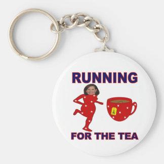 Bachmann Running for the Tea 1 Keychain