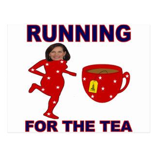 Bachmann Running for the Tea 1 Postcard