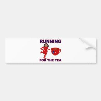 Bachmann Running for the Tea 2012 Bumper Sticker