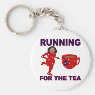 Bachmann Running for the Tea 2012 Keychain