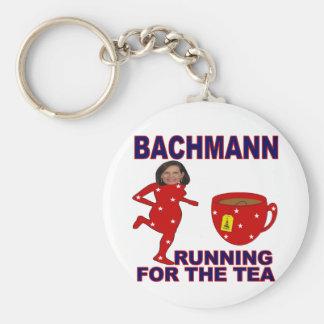 Bachmann Running for the Tea Keychain
