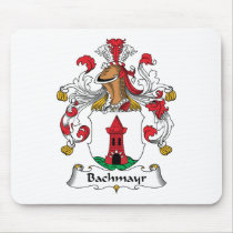 Bachmayr Family Crest Mousepad