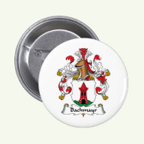 Bachmayr Family Crest Button