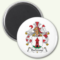 Bachmayr Family Crest Magnet
