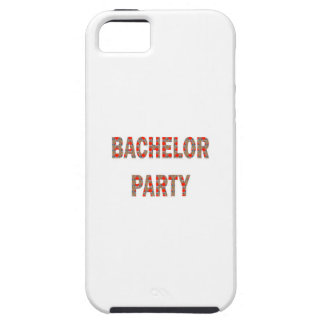 BACHOLER PARTY: Engagement, Wedding, Honeymoon iPhone SE/5/5s Case