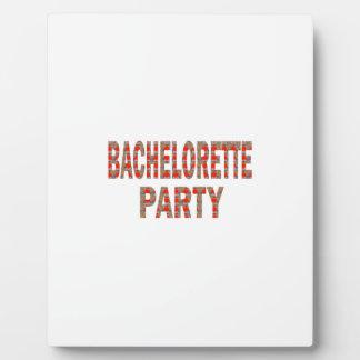 BACHOLERETTE Party Wedding Engagement LOWPRICES Plaques