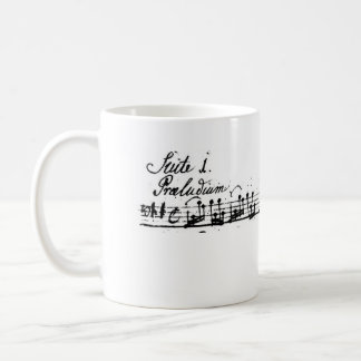 Bach's Hoop Suite Classic White Coffee Mug