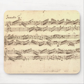 Bach's Invention Mouse Pad