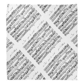 Bach's music bandana