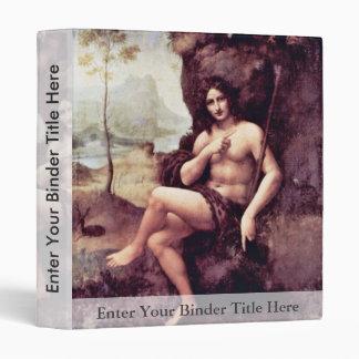 Bachus By Leonardo Da Vinci (Best Quality) Vinyl Binder