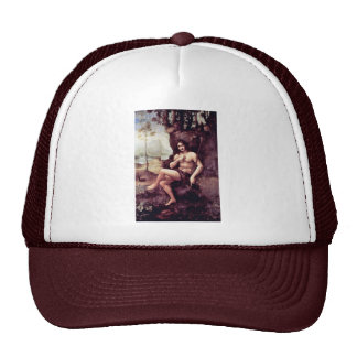 Bachus By Leonardo Da Vinci (Best Quality) Trucker Hat