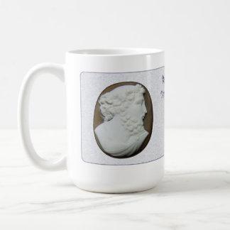 Bachus Cameo with Poem Coffee Mug