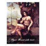 Bachus de Leonardo da Vinci (la mejor calidad) Tarjetas Informativas