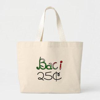 Baci (Kisses) 25 Cents Tote Bag