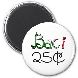 Baci (Kisses) 25 Cents Magnet