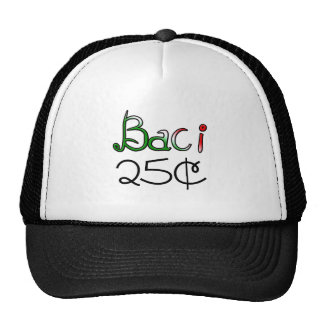 Baci (Kisses) 25 Cents Trucker Hat