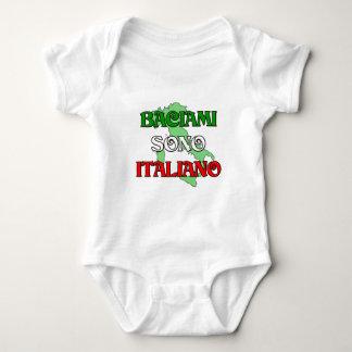 Baciami Italiano (Kiss Me I'm Italian) Baby Bodysuit