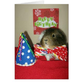 Baci's Birthday Party Card