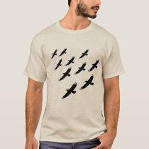 back2nature, Birds T-Shirt