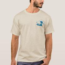 back2nature, Waves T-Shirt