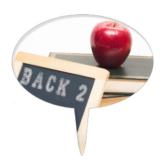 Back 2 School Cake Topper