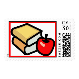 BACK 2 SCHOOL RED APPLE BOOKS EDUCATION PRIMARY EL POSTAGE