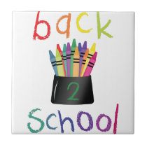 Back 2 School Tile