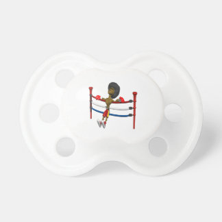 Back Against The Ropes Pacifier
