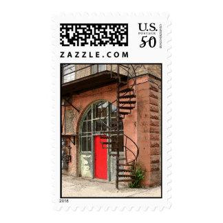 Back Alley Door 2006 Postage