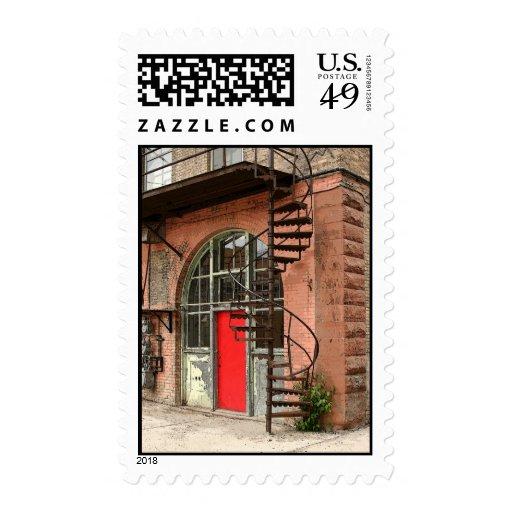Back Alley Door 2006 Stamp