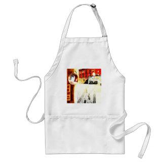 Back ally adult apron
