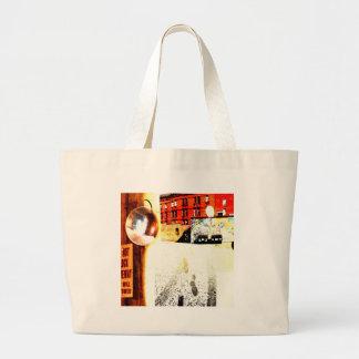 Back ally large tote bag