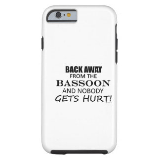 Back Away From The Bassoon iPhone 6 Case