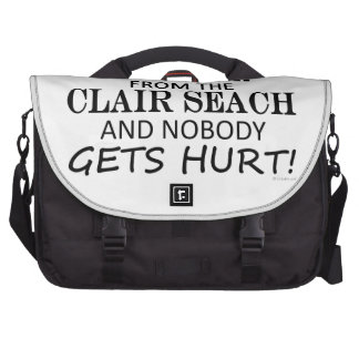 Back Away From The Clair Seach Commuter Bag