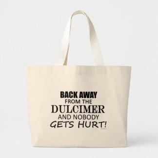 Back Away From The Dulcimer Jumbo Tote Bag