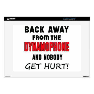 """Back away from the Dynamophone and nobody get hurt Skin For 15"""" Laptop"""