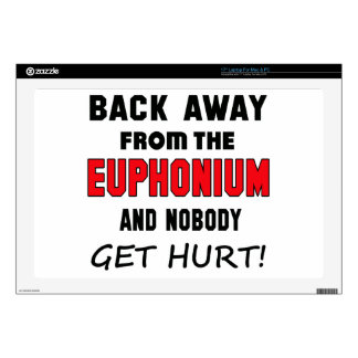 Back away from the Euphonium and nobody get hurt! Skin For Laptop