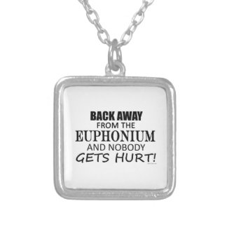 Back Away From The Euphonium Custom Necklace
