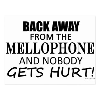 Back Away From The Mellophone Postcard