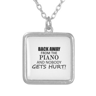 Back Away From The Piano Necklaces