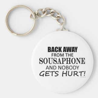 Back Away From The Sousaphone Keychain