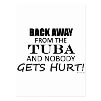 Back Away From The Tuba Postcard