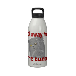 Back Away From The Tuna Reusable Water Bottle
