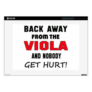 Back away from the Viola and nobody get hurt! Decals For Laptops