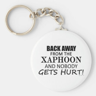 Back Away From The Xaphoon Keychains