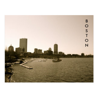 Back Bay Skyline Postcard