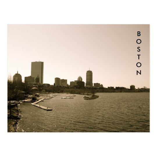 Back Bay Skyline Postcard