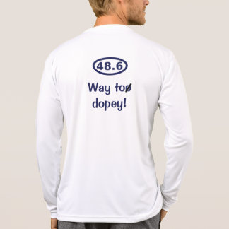 Back-Blue: 48.6 - Way too dopey! Shirt