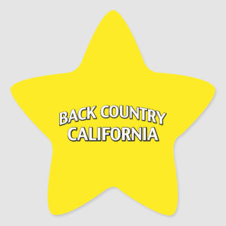 Back Country California Sticker