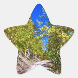 Back Country Road Take Me Home Colorado Star Sticker